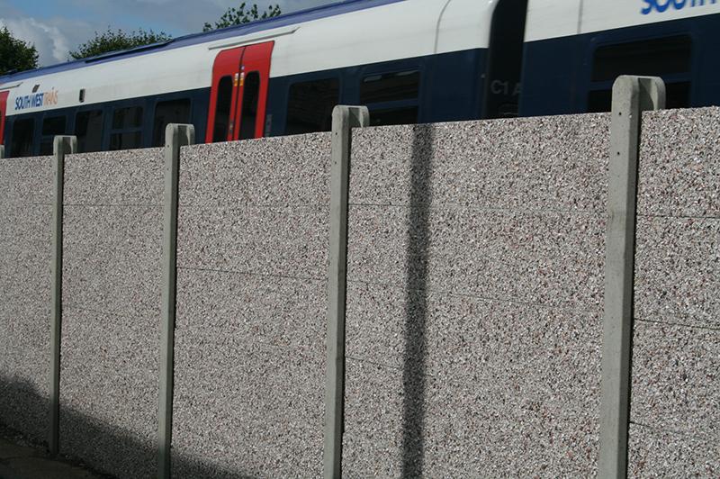 Concrete Post And Panel Fencing Allen Concrete