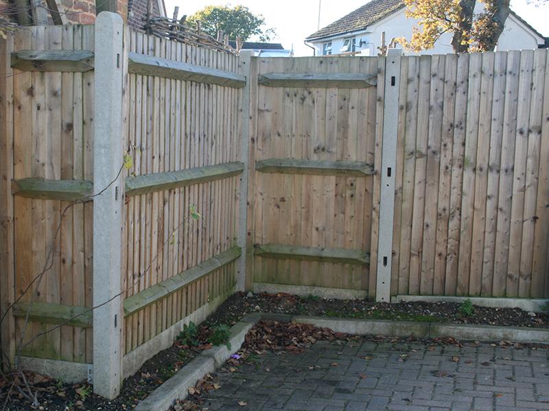 Morticed Fence Posts Allen Concrete