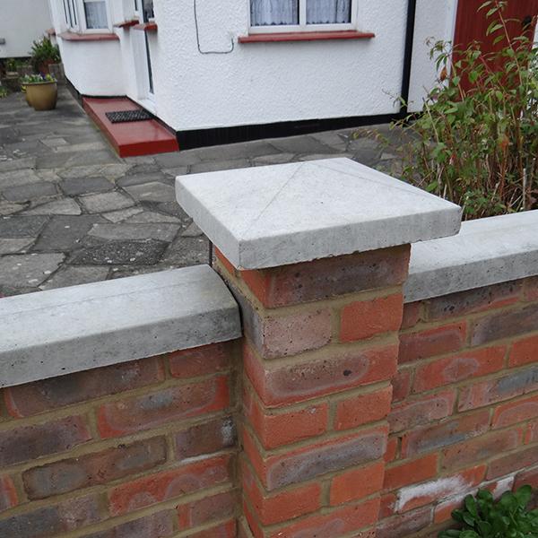 Cement Wall Caps : Pier caps allen concrete
