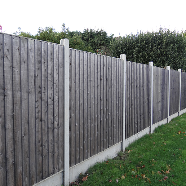 Slotted Fence Posts Amp Gravel Boards Allen Concrete