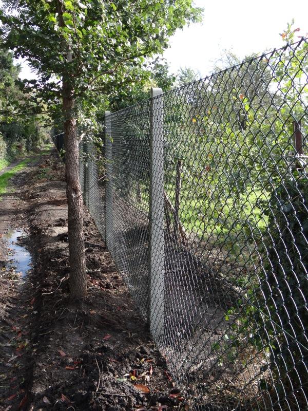 Chain Link Fence Posts Allen Concrete